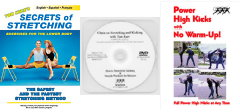 Kicker's Bundle: Secrets of Stretching DVD, Power High Kicks DVD, Clinic on Stretching and Kicking DVD