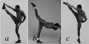 Leg Raises: Front, Back, Side